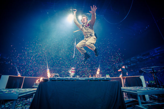 Commercial Advertisement Ad Photoshop Photography Music Concert Festival Tour Backstage Stage - by Julian Erksmeyer Commercial Advertisement Ad Photoshop Photography Portrait - Martin Solveig 2016 Halloween Ghostbusters