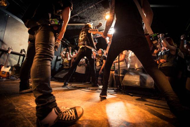 Commercial Advertisement Ad Photoshop Photography Music Concert Festival Tour Backstage Stage - by Julian Erksmeyer Hardcore Rock Swedish Swedes Sweden Rockstar