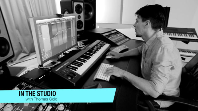 Thomas Gold - In the Studio