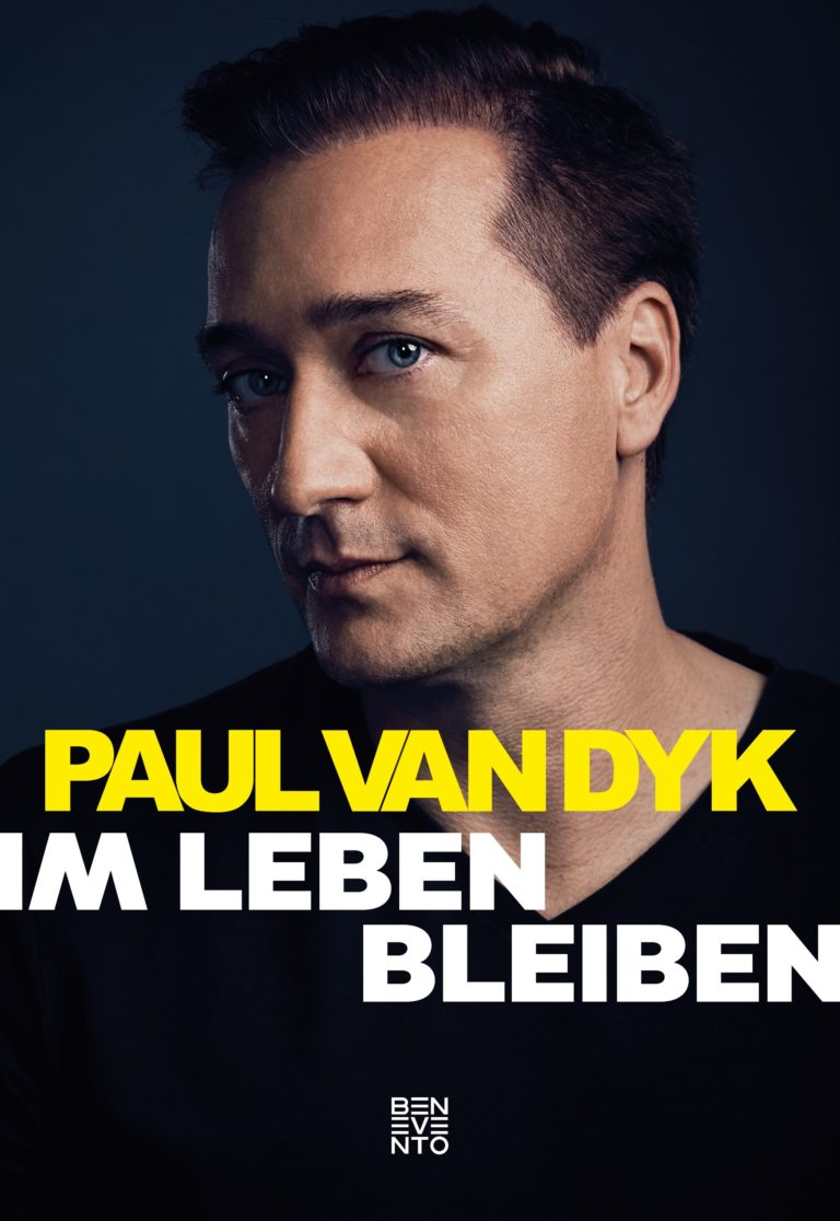 Portrait Paul van Dyk Book Cover Commercial Photography