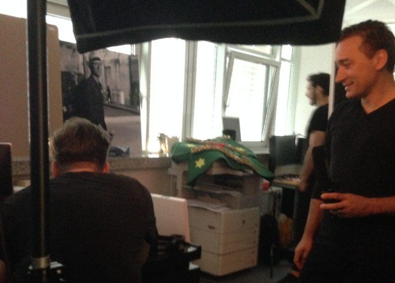 Paul van Dyk Photoshoot Behind the Scenes